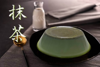 日式抹茶奶酪