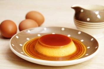 銀波布丁-焦糖雞蛋布丁